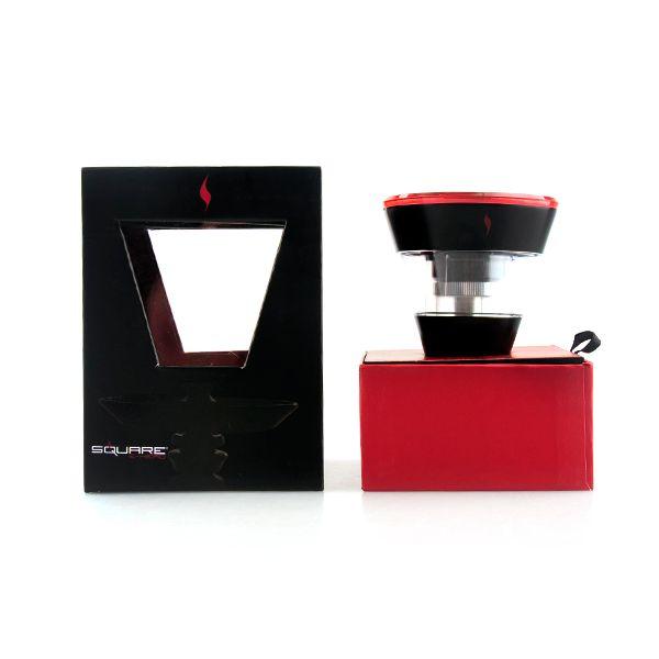 Square E head e hose e shisha 2400mAh cartridge refillable disposable Hookah Rechargeable E-Head Vaporizer ECig Kit