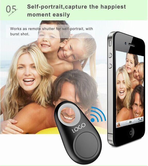 Fabrika Kaynağı GPS Tracker Anti-Kayıp Alarm Hırsızlık Cihazı Bluetooth Uzaktan, Çocuk Pet Çanta Cüzdan Anahtar Bulucu perakende paket olmadan