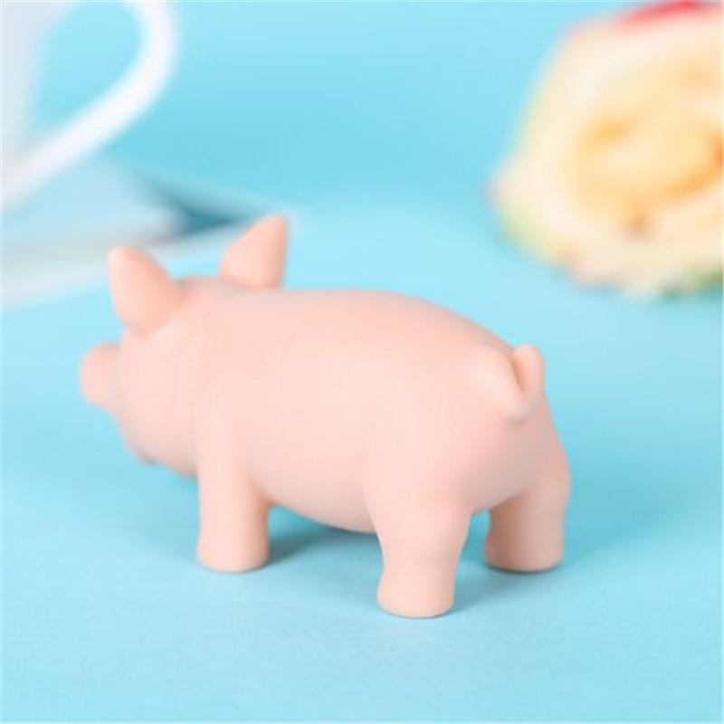 Funny vent toys Decompression toy screaming pig Anti Stress Relief Healthy pig Rubber Sound Screaming Toy ouc2093