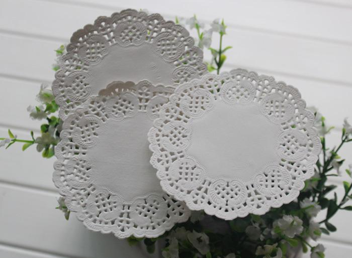 Paper doily 45 inch white round flower paper lace doilies for card paper doily 45 inch white round flower paper lace doilies for card making wedding cards decoration craft doyley wholesale packaging packaging world from mightylinksfo