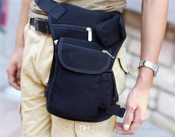 Drop Leg Bag Waist Belt Motorcycle Outdoor Dirt Bike Cycling Thigh Pack Tactical Bag Multi-purpose Solid Color Travel Bag