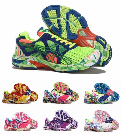 Acheter Chaussures De Course À Pied Asics Gel Noosa Tri 7 À Bas Prix,  Chaussures De Course À Pied Fluorescentes De Mode Fluorescent Light Eur 36  40 De ...