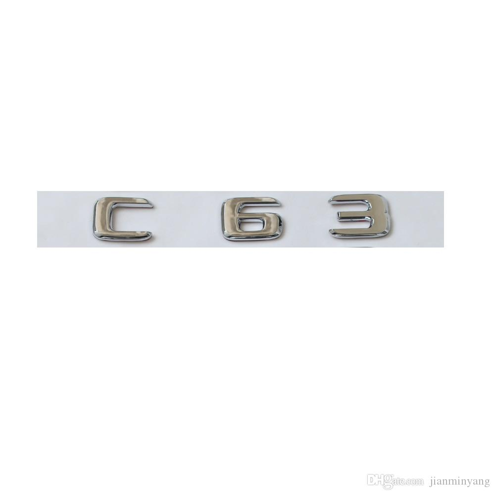 Silver Chrome X1 Rear Boot Lid Badge Emblem Numbers Letters Compatible For X Series E84 F48