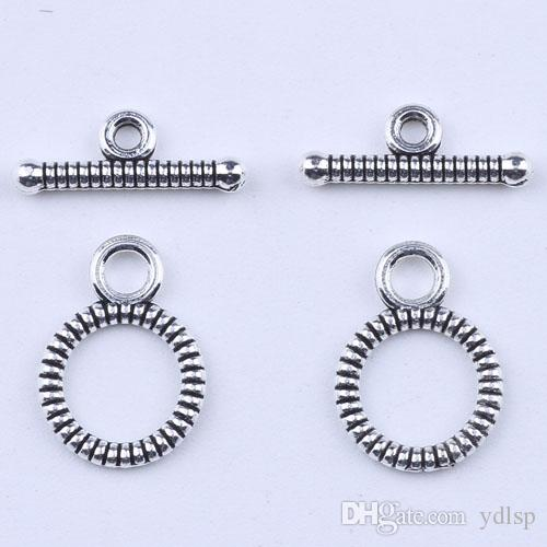 2016 мода ретро OT пряжки Шарм серебро DIY ювелирные изделия кулон fit ожерелье или браслеты 1200 шт. / лот 1849c