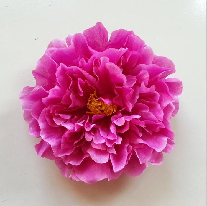 Flores artificiales flores de peonía accesorios de baile de flores de seda 20CM peonía grande Envío gratis