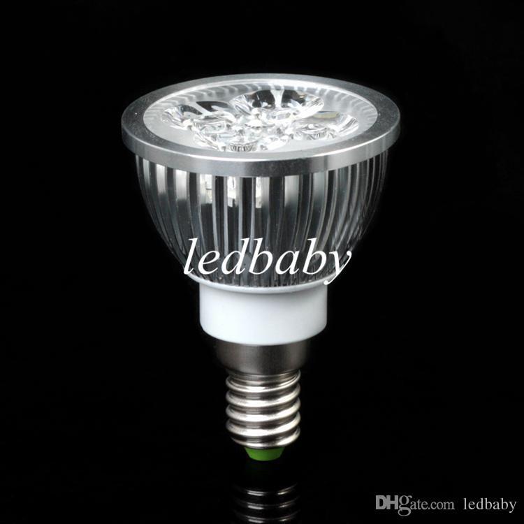LED BULBS 12W GU10 E27 MR16 4X3W CREE LED DOWNLIGHT ENERGY SAVING LIGHT LED Spotlight Free shippng