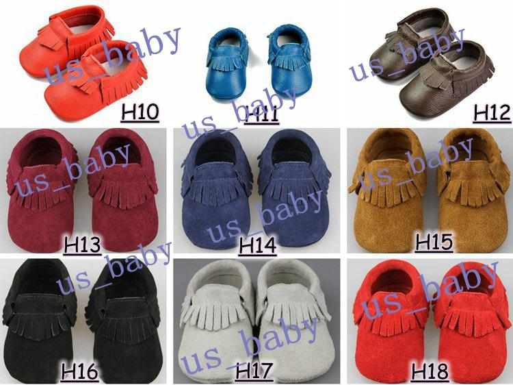 Baby boy moccasins soft sole moccs infant girl 81styles genuine leather prewalker booties toddlers fringe cow leather moccasin shoes