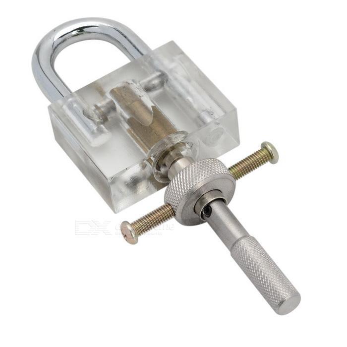 Disco Detainer Lock Bump Ferramenta Chave Ferramenta Locksmith Com Tipo de Disco de Metal Cadeado para o Conjunto de Ferramentas de Habilidade de Treinamento de Serralheiro