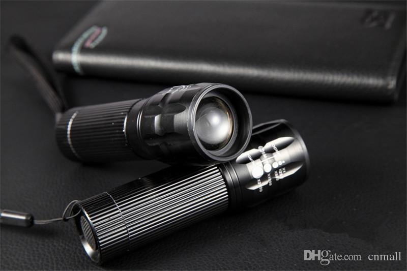 Q5 Flashlight High Power 2000 lumens LED Zoomable Flashlight Hunting Flashlight Camping Flashlights Penlight Practical Torch Light Lantern