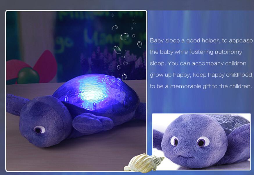 2018 children baby sleep night light creative spirit lamp sea ocean star projector lamp speed sound of the waves from henrry 40 21 dhgate com