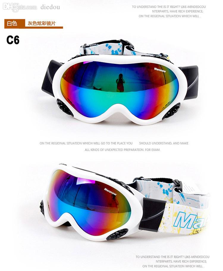 e41b64b1269e Wholesale-Marsnow New Classic Style Men Women Snowboarding Goggles ...