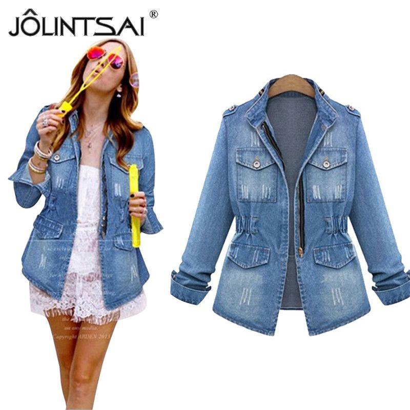 46bd1859b8c Cheap Korea Winter Fashion Women Jacket Best Cropped Denim Jackets Women