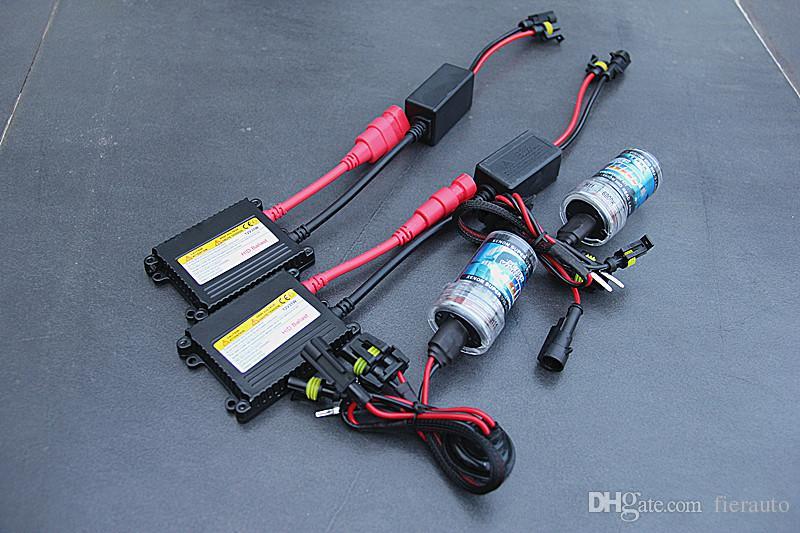 Dc 12 فولت 35 واط لمبات 12 فولت لمصباح التحويل H1 H3 H4 H / L H7 H9 H10 H11 9005 9006 4300k 6000k 8000K HID LIGHT XENON LAMP