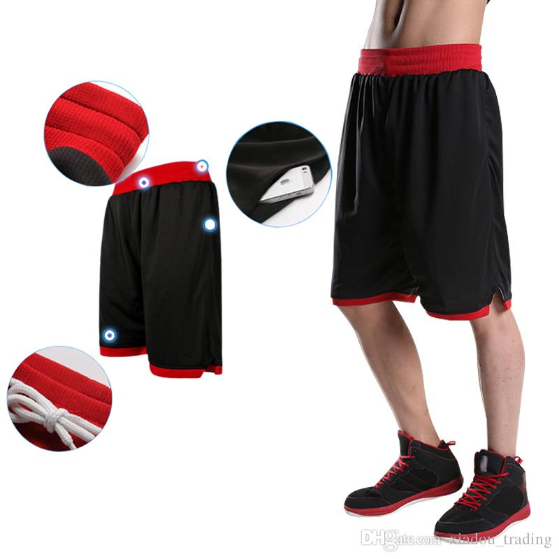 52b482c5b 2019 2017 New Mens Basketball Shorts Men Workout Sport Shorts Plus Size  Quick Dry Running Training Basketball Shorts With Pockets For Men From ...