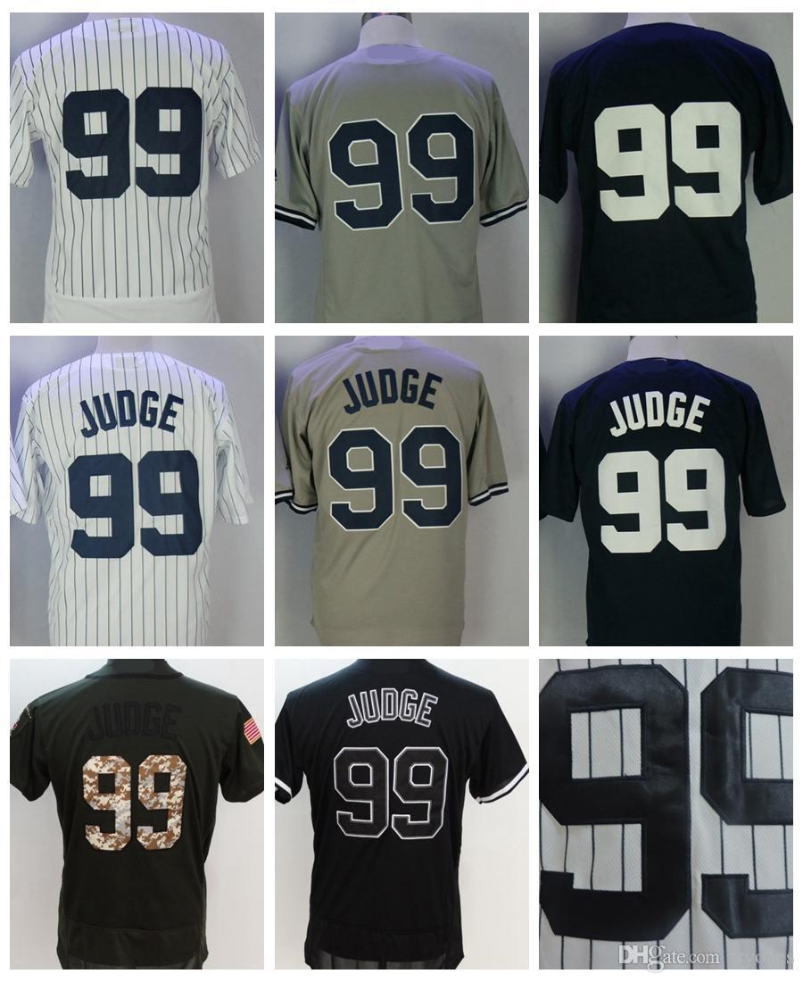 2018 New York Aaron Judge Baseball Jersey Home White  99 Aaron Judge ... 1265eec746c