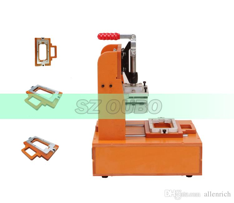 Bezel Frame Laminating Manual Laminator Machine For Broken Iphone 4 ...