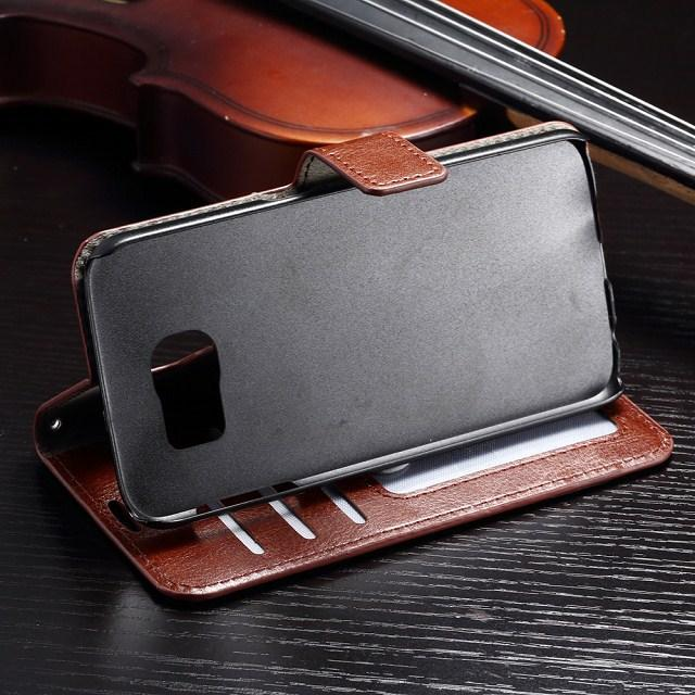 Wallet Leather Flip Case Cover Pouch Stand with Card Slot fo Iphone 5 5S 5C 6G 6 Plus 6+ 7 plus Samsung Galaxy S4 S5 S6 edge plus S7 edge