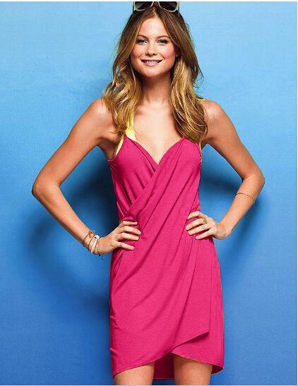 2017 New Style Women Magic Bath Towel 140*70CM Lady Homewear Sleepwear Women's Summer Beach Strap Dress Solid Cover-ups
