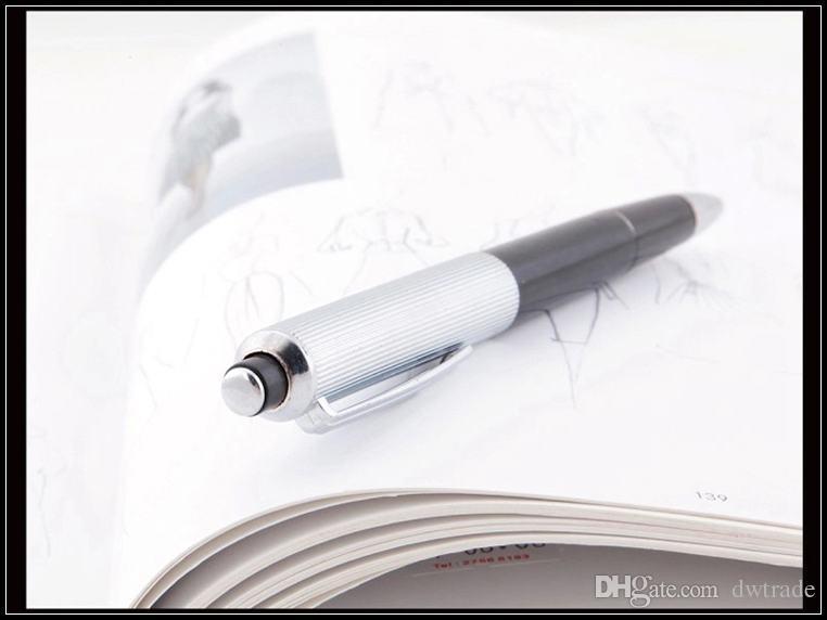 Prettybaby April fools 'giorno ingannevole giocattoli Electric Metal Shock Pen scherzo scherzo shock gag penna giocattolo divertente regalo 2 diversi pacchetti Pt0209 #