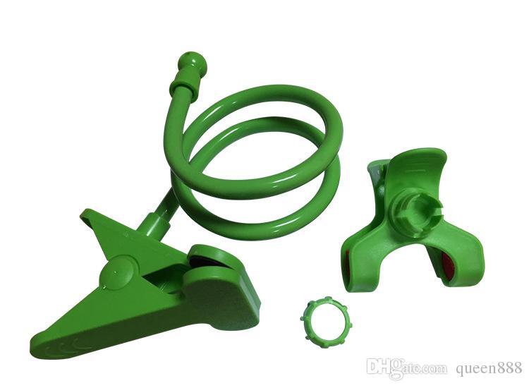 10 farben Universal Langen Arm Faule Handy Schwanenhals Stehen Halter Stents Flexible Auto Bett Schreibtisch Tisch Clip Halterung