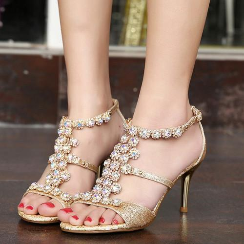 Sandal Factory Price Thin High Heels Platform Sandals Shoes For ...