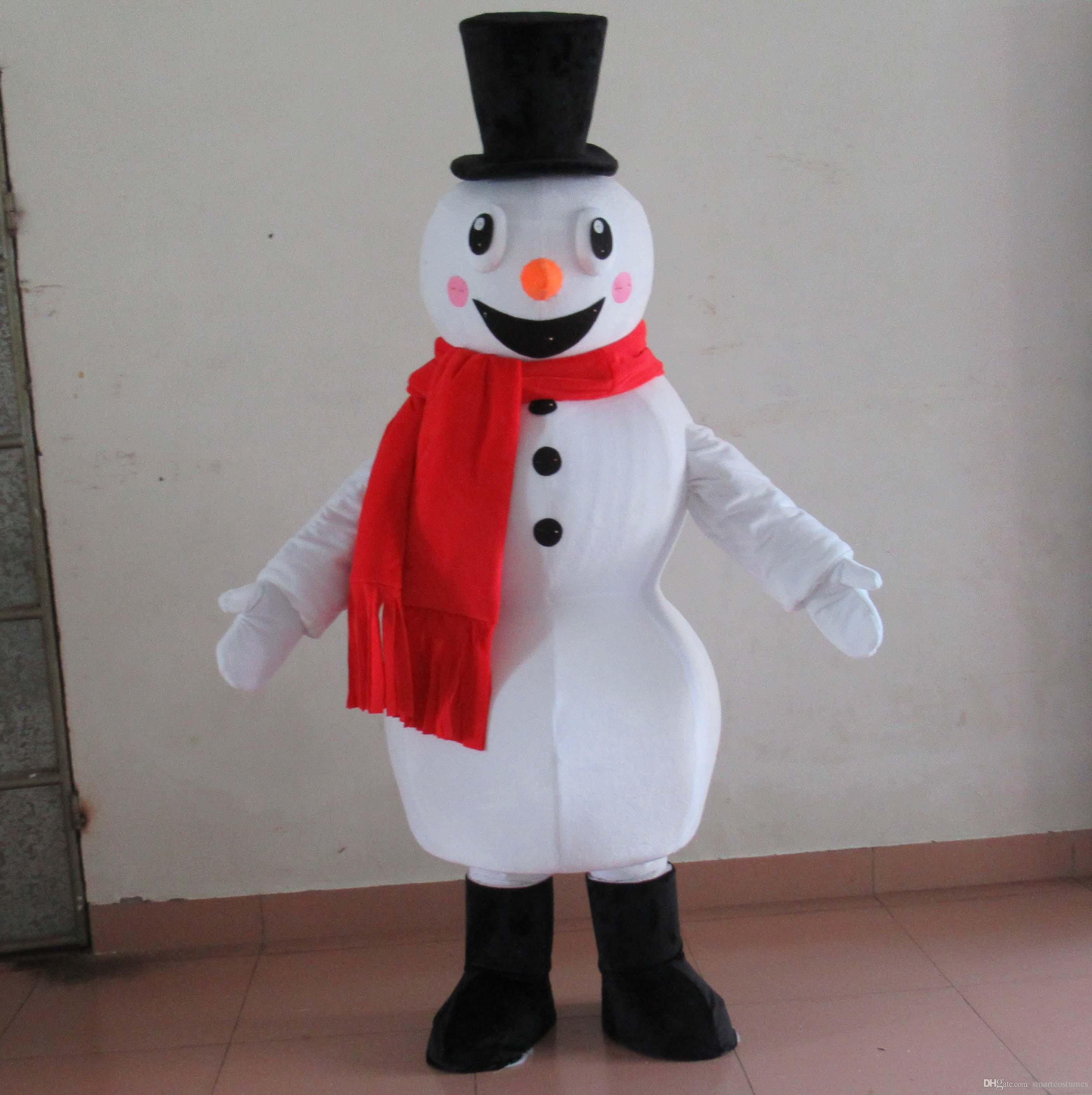 100% Real Photos Of The Snow White Snowman Mascot Costume For Adult To Wear For Sale Mascot Head For Sale Customized Costumes From Smartcostumes ... & 100% Real Photos Of The Snow White Snowman Mascot Costume For Adult ...