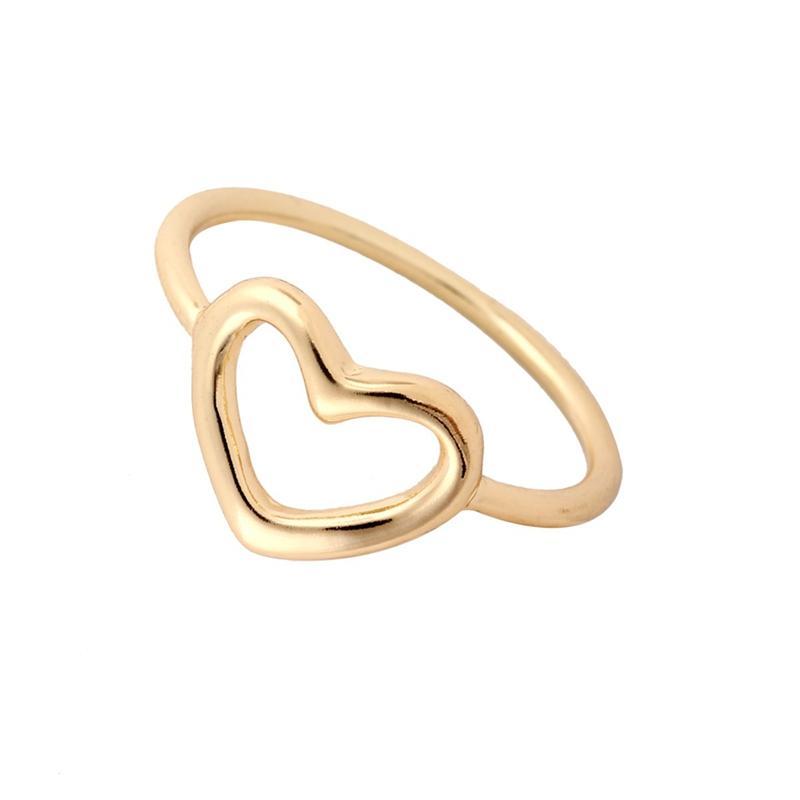 2018 Wholesale 2016 New Fashion Accessory Gold Love Open Heart ...