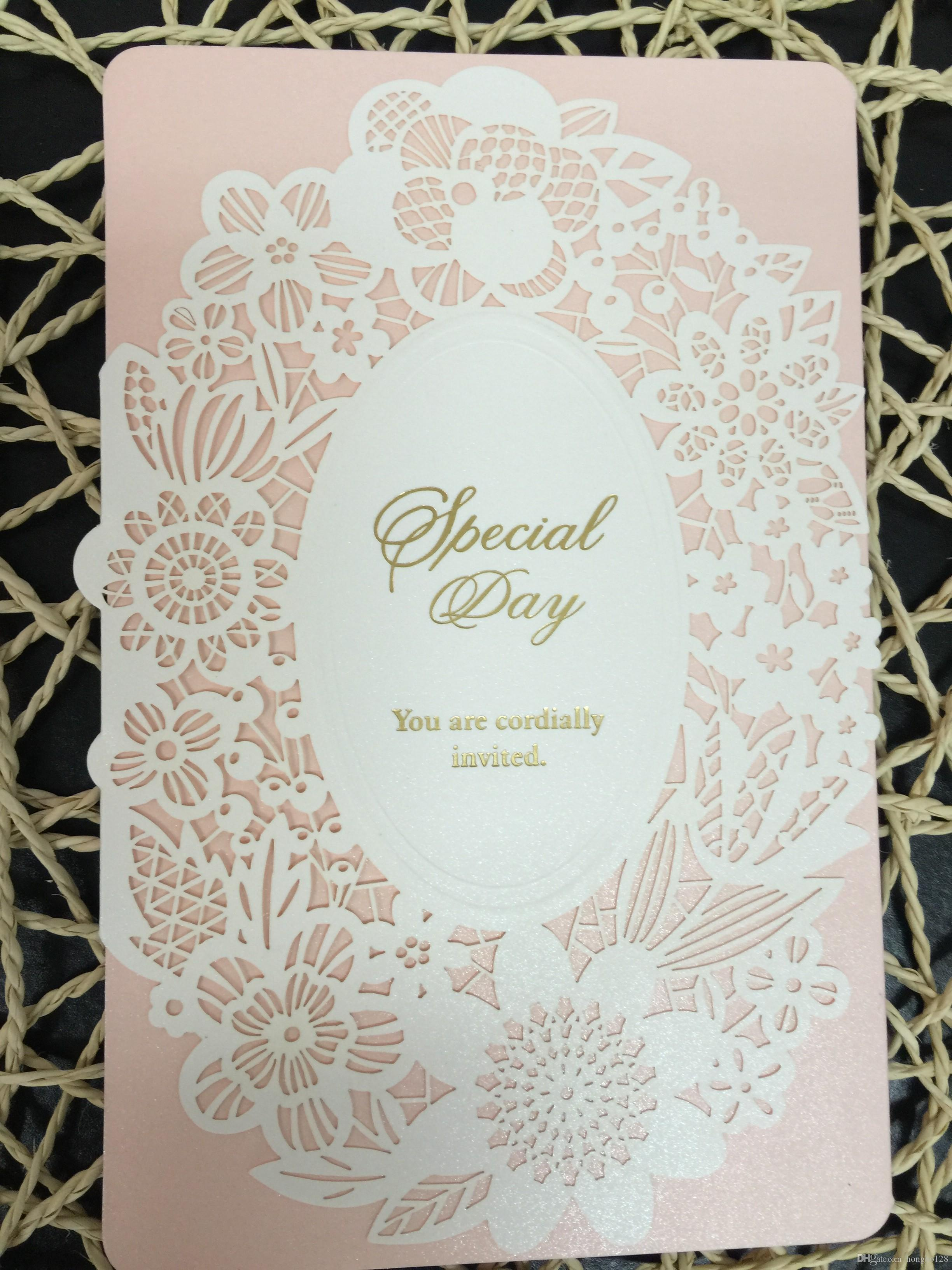 Manufacturers Selling Wedding Invitations. High Grade Cards. Laser ...