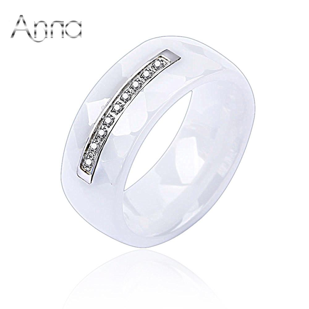 curved image mens ceramic brushed rings greed ring cz zirconia men black john