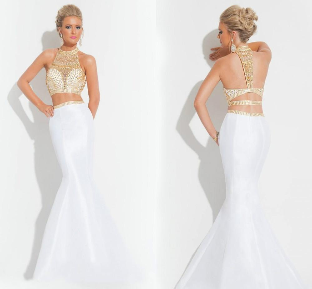 Morning Fashion88 2015 New Arrival Crystal Sparkly Two Piece Prom ...