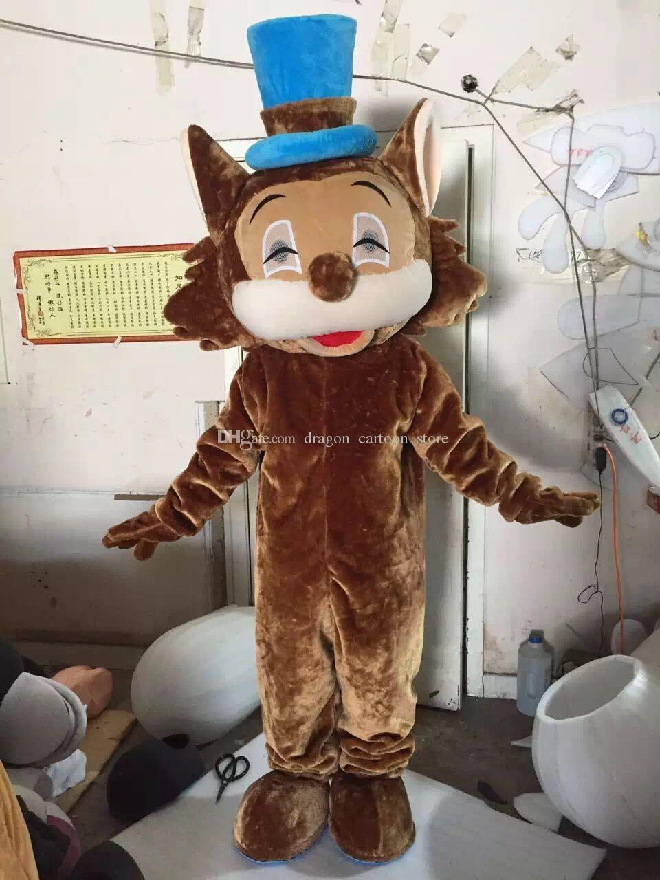 Cat Mascot Costumes Cartoon Character Adult Sz 100% Real Picture 003