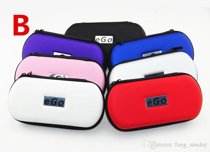 Zipper Carry Case Electronic Cigarette eGo Case LOGO E Cig Cases Wholesale for Ego eVod Vaporizer