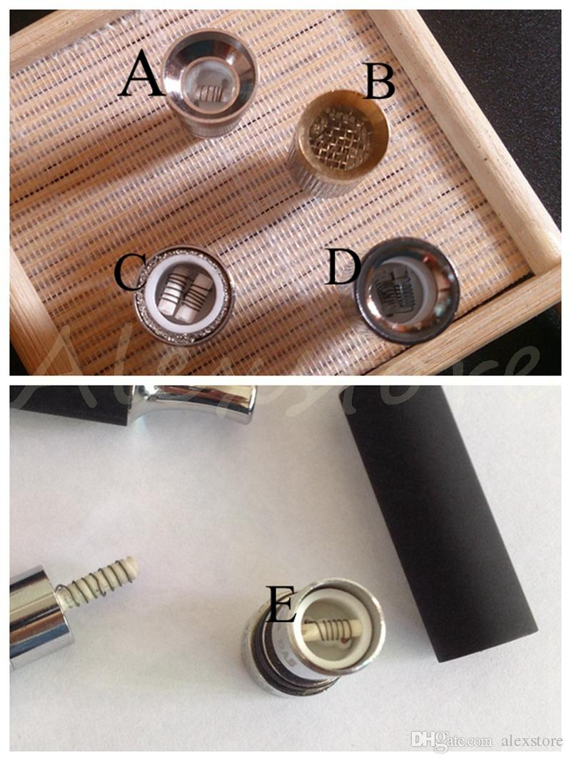 Newest Ego gx atomizer double coils wax dry herb ceramic cotton rob vaporizer dual heating tank ecig with 5 kinds of coil DHL