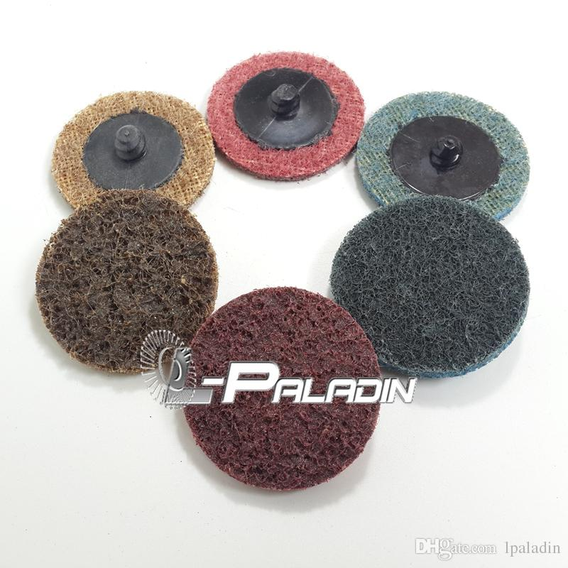 2018 Assorted 2 Bbl Scotch Brite Roloc Abrasive Sanding Disc Coarse To Fine Car Refinish Metal Polishing Drill Air Grinder Rotary Tools From Lpaladin