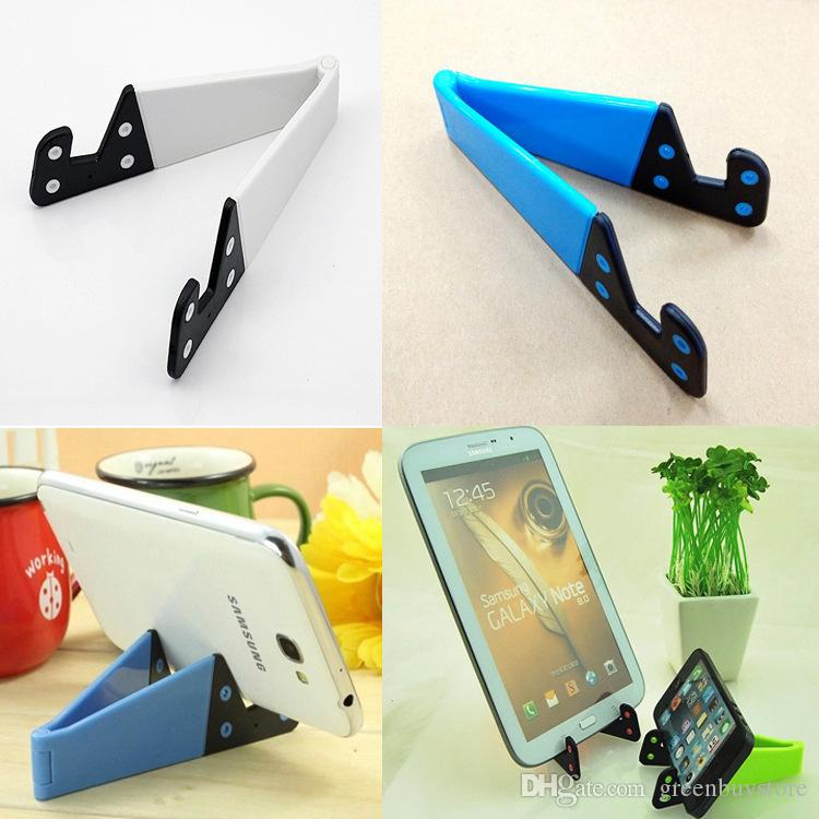 Multicolor Cell Phone Holders PC Material Foldable Mobile Phone