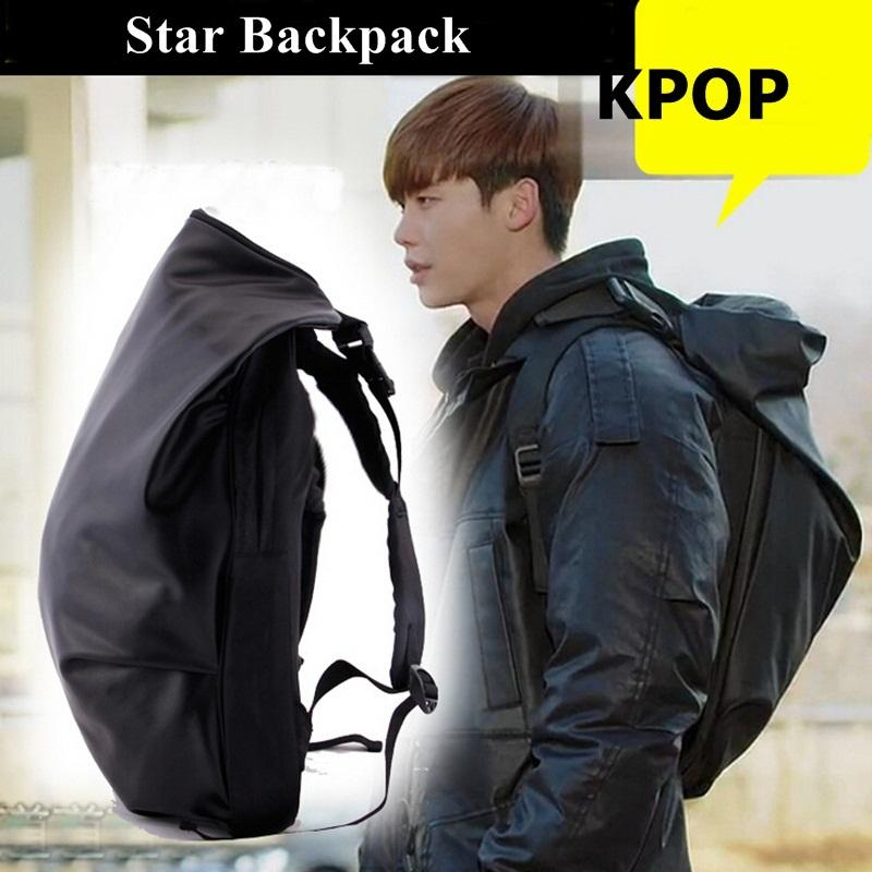 New Leather Backpack Kpop Pinocchio Star Backpack Black Cool Laptop  Backpacks School Outdoor Sport Travel Bag Mochilas Sac A Dos Toddler  Backpack Kelty ... 5b0baf74d50eb