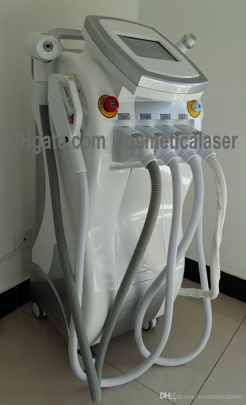 Depilazione 4 IN 1 Elight IPL + RF + IPL + Bipolare RF + Laser Attrezzature saloni di bellezza