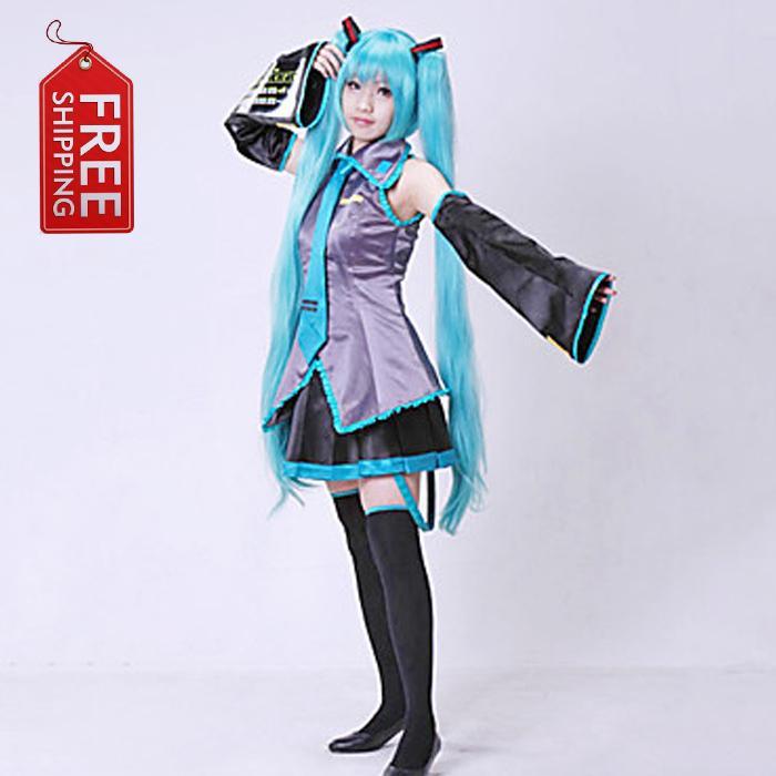 Japanese Anime Adult Vocaloid Ii Hatsune Miku Cosplay Costume ...