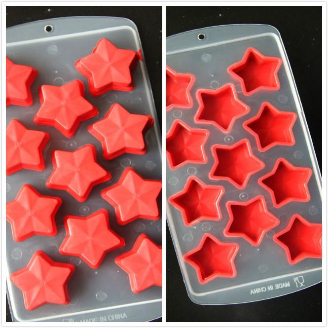 Security Silicone Small Ice Cube Tray / ice mold /creative ice maker fruit shape Modelling LATTICE
