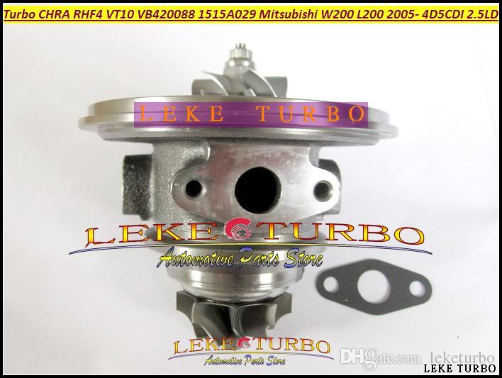 Turbo Chra Turbocompressore Cartridge Core RHF4 VT10 1515A029 VA420088 VC420088 Mitsubishi W200 Auto L200 Truck 4D5CDI 2.5L DI-D 4WD 98KW