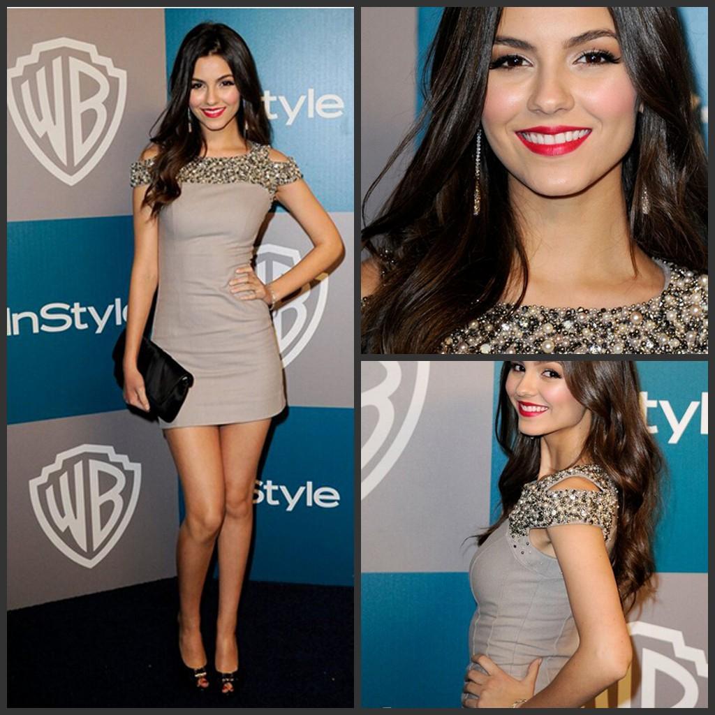 Großhandel Neueste Selena Gomez Kleid Quadratischen Ausschnitt Cap ...