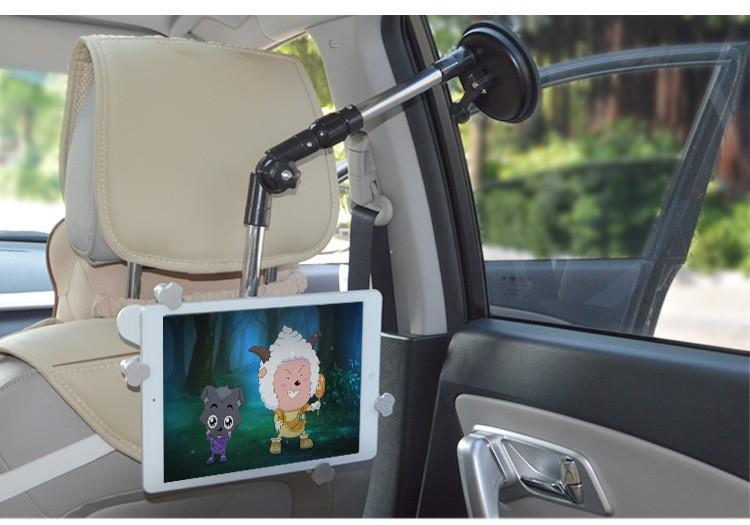 Car Back Seat Headrest Mount Holder For 7 10inch For Samsung For Ipad Air  Mini Tablet Arm Bed Holder Mount Desk Lcd Bracket Stand Car Stand Cars From  ...