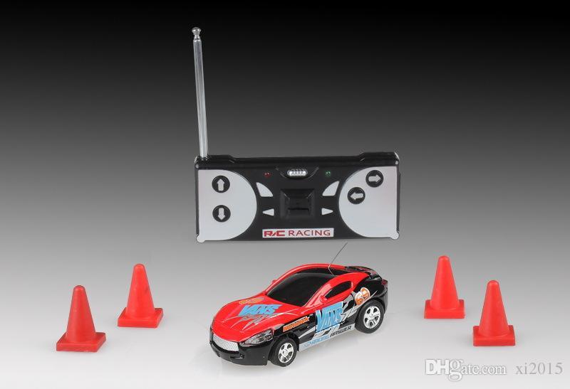 Cheap Mini Coke Can RC Radio Remote Control Micro Racing Car Hobby Vehicle Toy Christmas Gift DHL