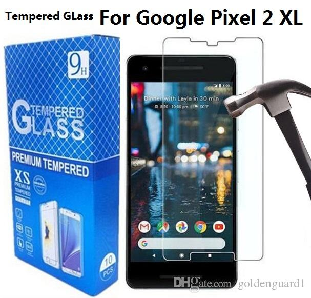 For Google Pixel 2 Tempered Glass Screen Protector For Google Pixel XL LG Nuexs 6P 6 Neuxs 5 5X 4 HTC U11 Plus
