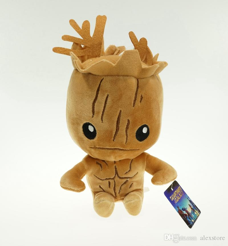 2015 Guardians of the Galaxy Plush Stuff Toy Plush Doll Tree people groot rocket raccoon 20cm Stuffed Toys Figure For Children