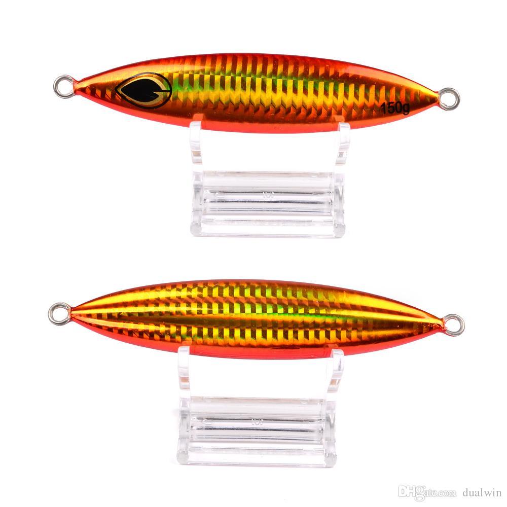 Metal Fishing Bait 150G Lead Fish Jig Fishing Lure Scale Fishing Lure Artificial Hard Jigging Bait