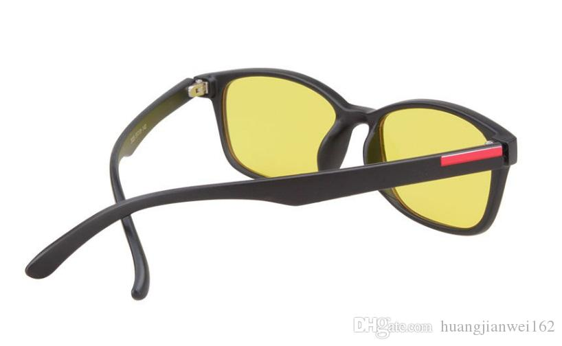 Relief fatigue eye protection against anti-Blu-ray computer games flat light goggles Driving Glasses Flat mirror