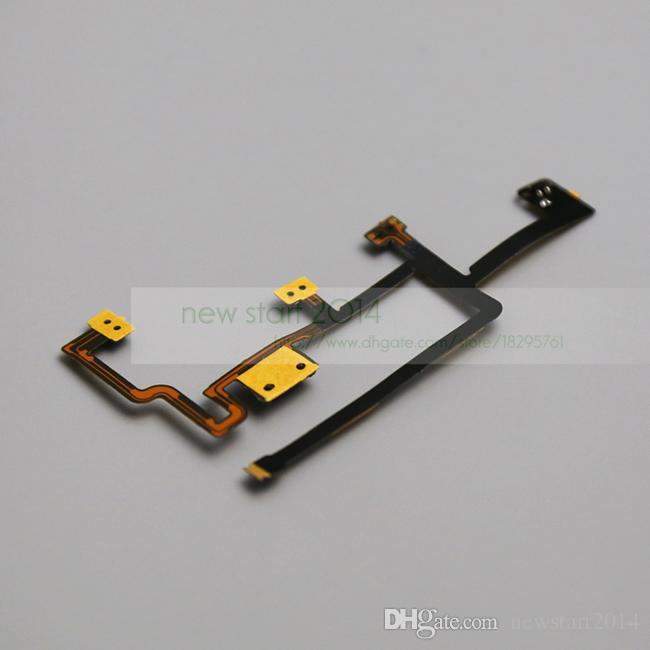 Ipad 2 CDMA Sürümü için Güç Kapalı Düğme Ses Dilsiz Anahtarı Flex Kablo Yedek parça