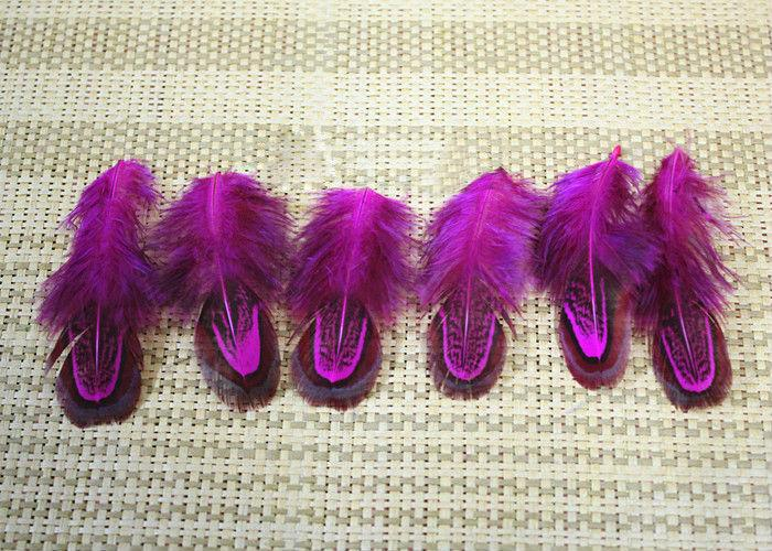 4-8cm colorful mix dyed real natural almond pheasant plumage feathers craft for jewelry making bulk sale
