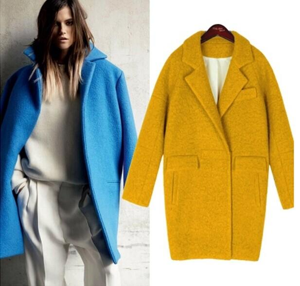 vintage coat Long womens